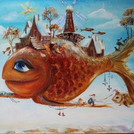 Летающие рыбы. Сказка на ночь